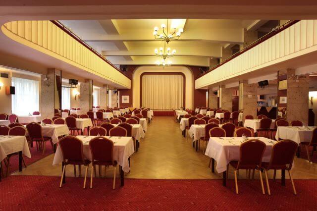 Hotel Belvedere - Sál