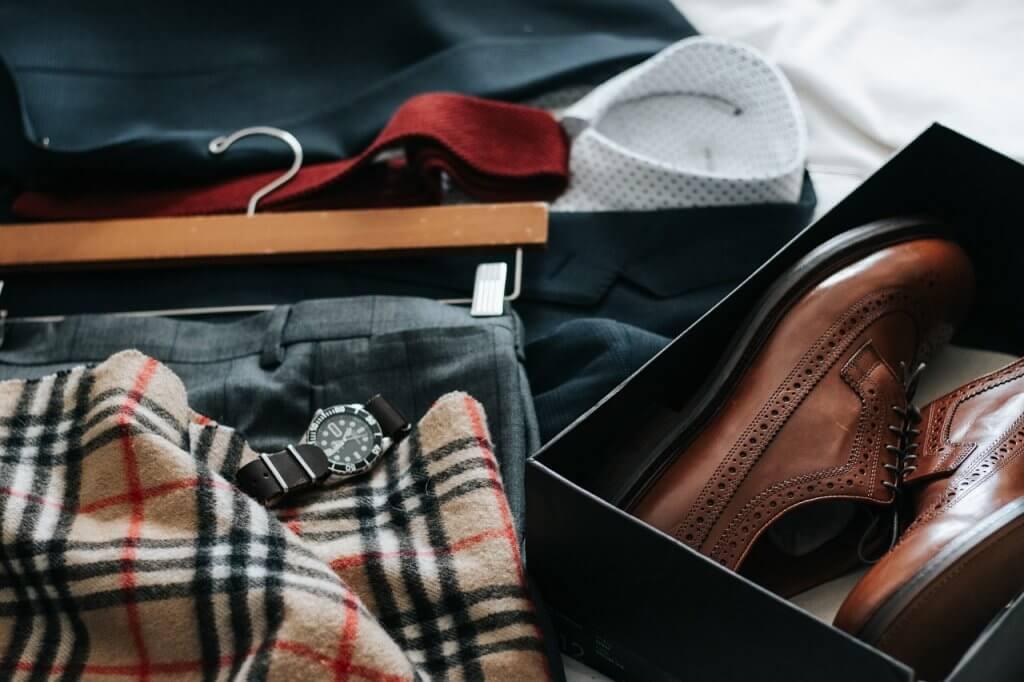 Formální oblečení – ranní příprava na pracovní schůzku