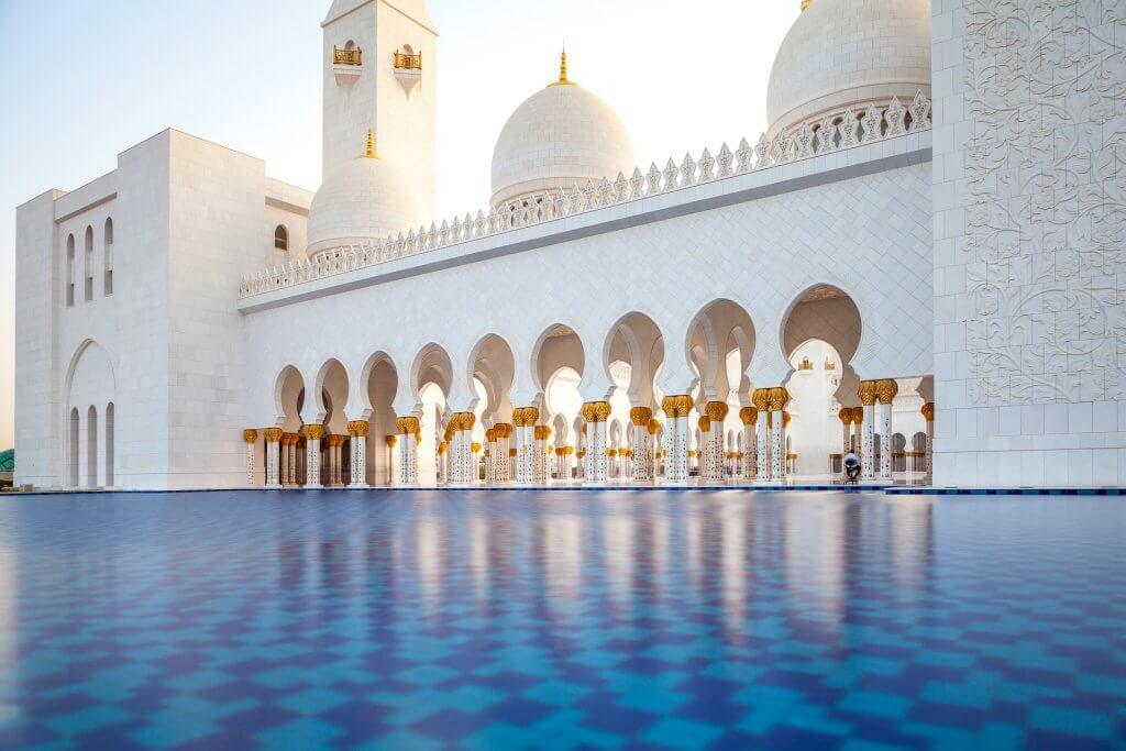 Mešita v Abú Dhabí