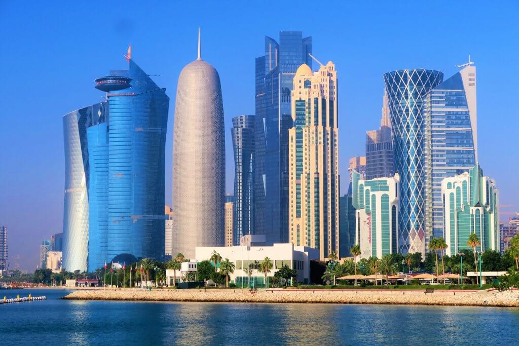 Mrakodrapy v Dauhá